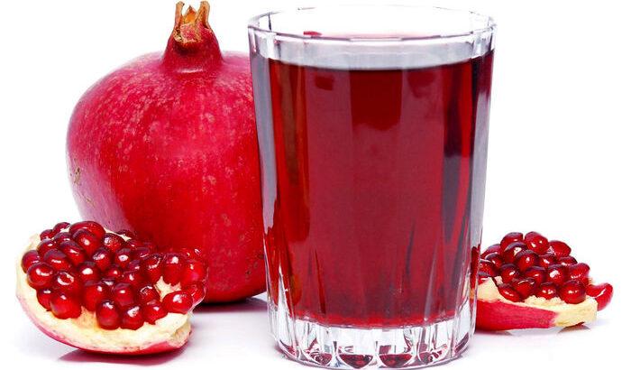 فشار خون ,آب انار
