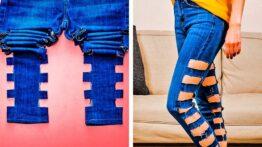 33 ترفند دخترانه برای استفاده دوباره از لباس های کهنه
